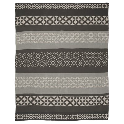 Metro Cotton Throw Color: Gray