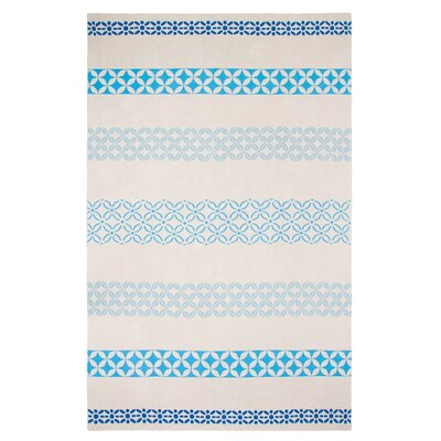 Metro Cotton Throw Color: Blue