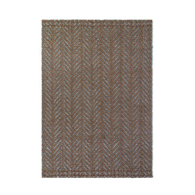 Heartland Hand-Woven Brown Indoor/Outdoor Area Rug Rug Size: 3 x 5
