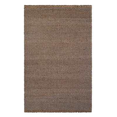 Eckel Hand-Woven Brown Indoor/Outdoor Area Rug Rug Size: Rectangle 4 x 6
