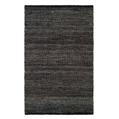 Gordonsville Hand-Woven Gray Area Rug Rug Size: Rectangle 4 x 6