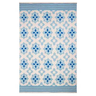 Metro Ellesmere Cotton Throw Color: Blue