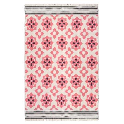 Metro Ellesmere Cotton Throw Color: Pink