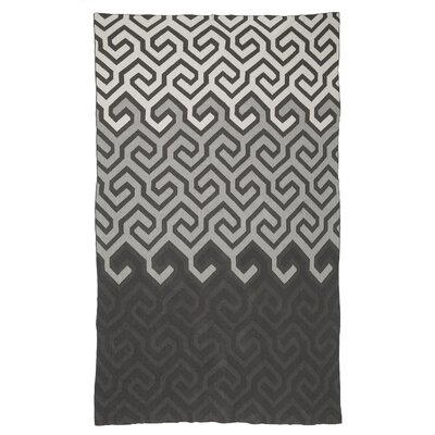 Metro Symphony Cotton Throw Color: Gray