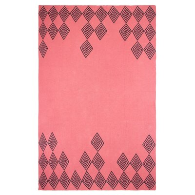 Metro Ashmont Cotton Throw Color: Pink