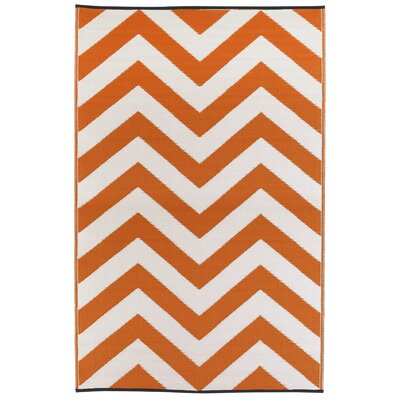 Laguna Orange Peel World Indoor/Outdoor Area Rug Rug Size: 5 x 8
