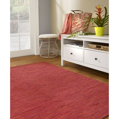 Zen Cancun Cotton Sunset Area Rug Rug Size: 5 x 8