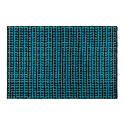 Zen Hand-Woven Blue Area Rug Rug Size: 4 x 6