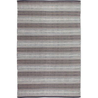Estate Hand-Woven Gray Area Rug Rug Size: 8 x 10