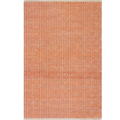 Metro Hand-Woven Apricot Area Rug Rug Size: 8 x 10