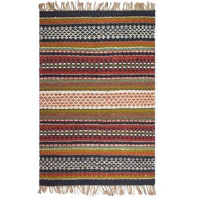 Heartland Hand-Woven Area Rug Rug Size: 4 x 6