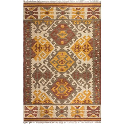 Heritage Hand-Knotted Area Rug Rug Size: 5 x 8