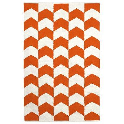 Metro Orange Peel Metropolitan Area Rug Rug Size: 6 x 9