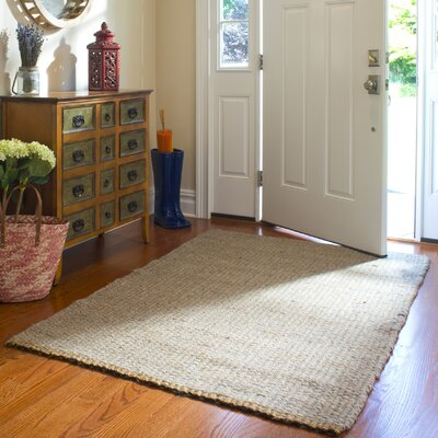 Heartland 8' x 10' Hand-Woven Brown Area Rug