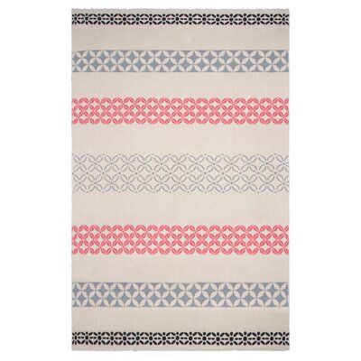 Metro Cotton Throw Color: Pink