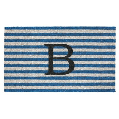 Monogram Door Mat Letter: B