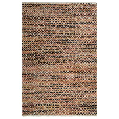 Heartland Clark Hand-Woven Brown Indoor/Outdoor Area Rug Rug Size: 8 x 10
