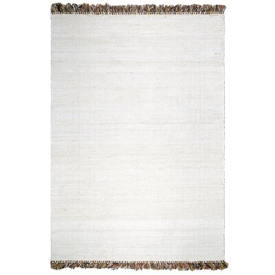 Heartland Saguaro Hand-Woven White Indoor/Outdoor Area Rug Rug Size: 4 x 6