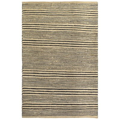 Heartland Congaree Hand-Woven Black Indoor/Outdoor Area Rug Rug Size: 2 x 3