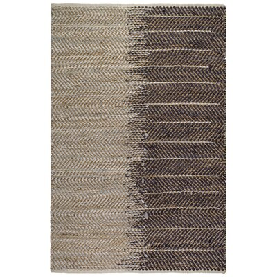Metro Addison Hand-Woven Natural Area Rug Rug Size: 3 x 5