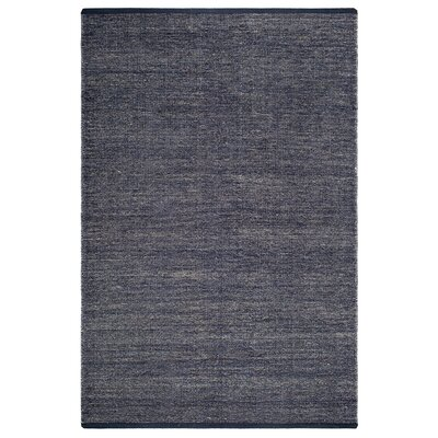 Zen Waterloo Hand-Woven Blue Area Rug Rug Size: 4 x 6
