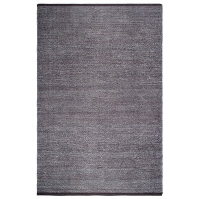 Zen Waterloo Hand-Woven Gray Area Rug Rug Size: 4 x 6