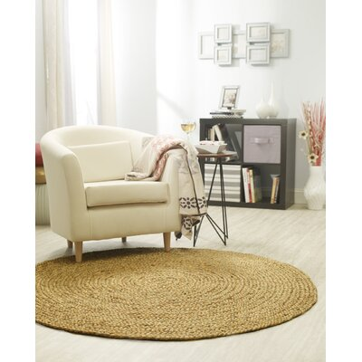 Essentials Hand-Woven Brown Area Rug