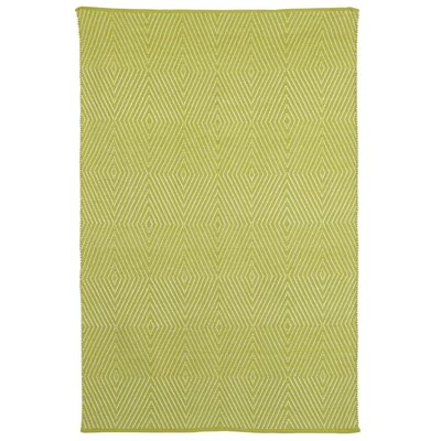 Criswell Dark Citron Area Rug Rug Size: 6 x 9
