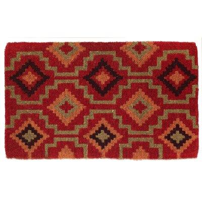 Kam Kilim Handwoven Coir Doormat