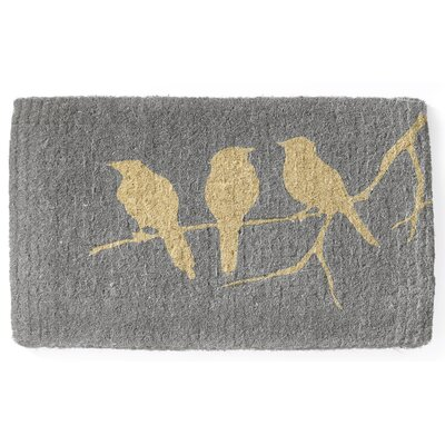 Acquah Birds on Branch Handwoven Doormat