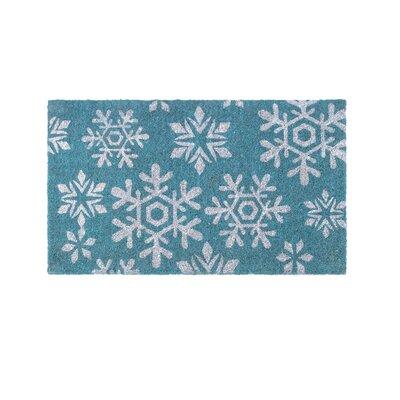 Snowfall Handwoven Doormat