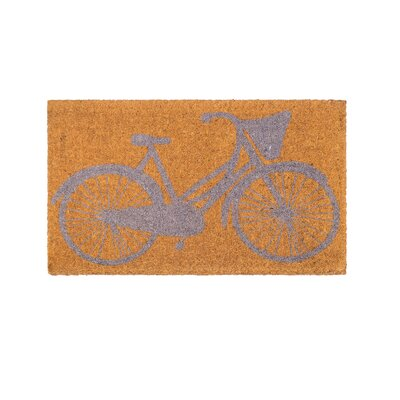 Pinkney Pedal Power Handwoven Doormat