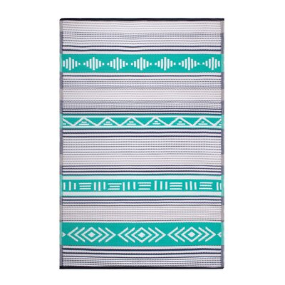 Swanson Green Indoor/Outdoor Area Rug Rug Size: Rectangle 6 x 9