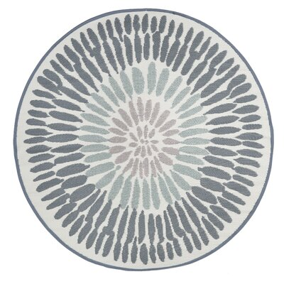Nishi Gray Indoor/Outdoor Area Rug