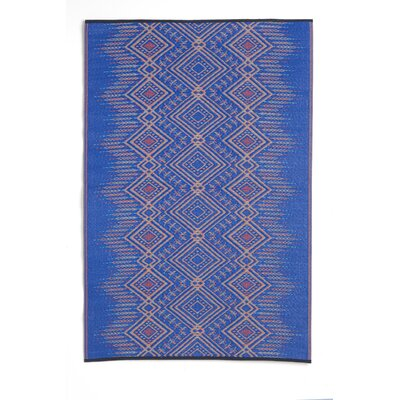 Bea Blue Indoor/Outdoor Area Rug
