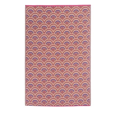 Pickett Orange/Violet Indoor/Outdoor Area Rug