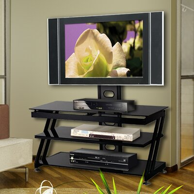 Cheap Ready Set Mount Isabella Universal TV Stand for up to 50″ Screens in Black (QZB1021)