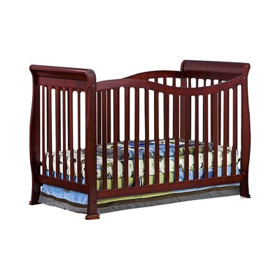 Violet 7 in 1 Life Style Convertible Crib Finish: Cherry 655-C