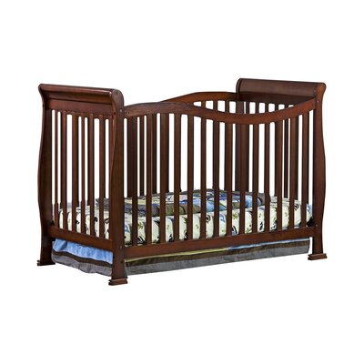 Violet 7 in 1 Life Style Convertible Crib Finish: Espresso 655-E