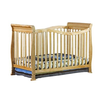 Violet 7 in 1 Life Style Convertible Crib Finish: Natural 655-N