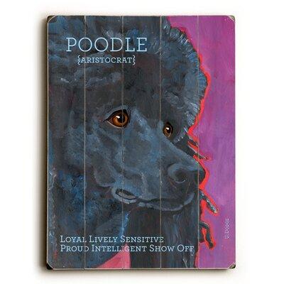 Poodle Wood Sign
