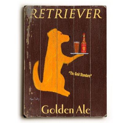 'Retriever Golden Ale' Vintage Advertisement 0004-2156-38