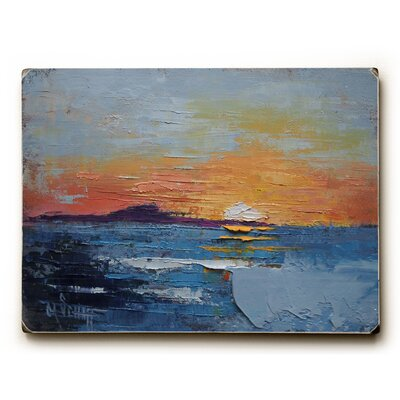 The Sun Falls into the Sea Print of Painting 0004-4352-25