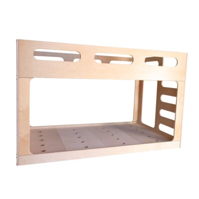 Low Twin Bunk Bed