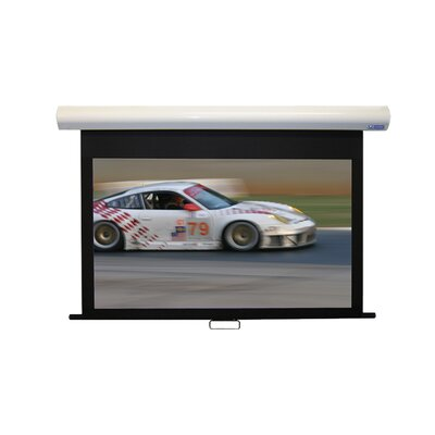 Matte White 160 diagonal Manual Projection Screen