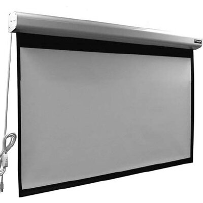 Elegante Matte White 110 diagonal Electric Projection Screen
