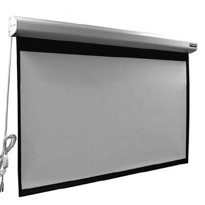 Elegante Matte Grey 110 diagonal Electric Projection Screen