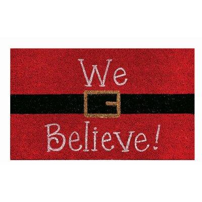 We Believe Doormat