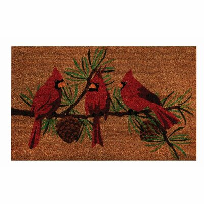 Jonas Cardinals Door Mat