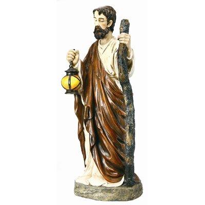 "Regency International Joseph Statue Christmas Decoration - Size: 65"" H x 29.33"" W x 26.18"" D at Sears.com"